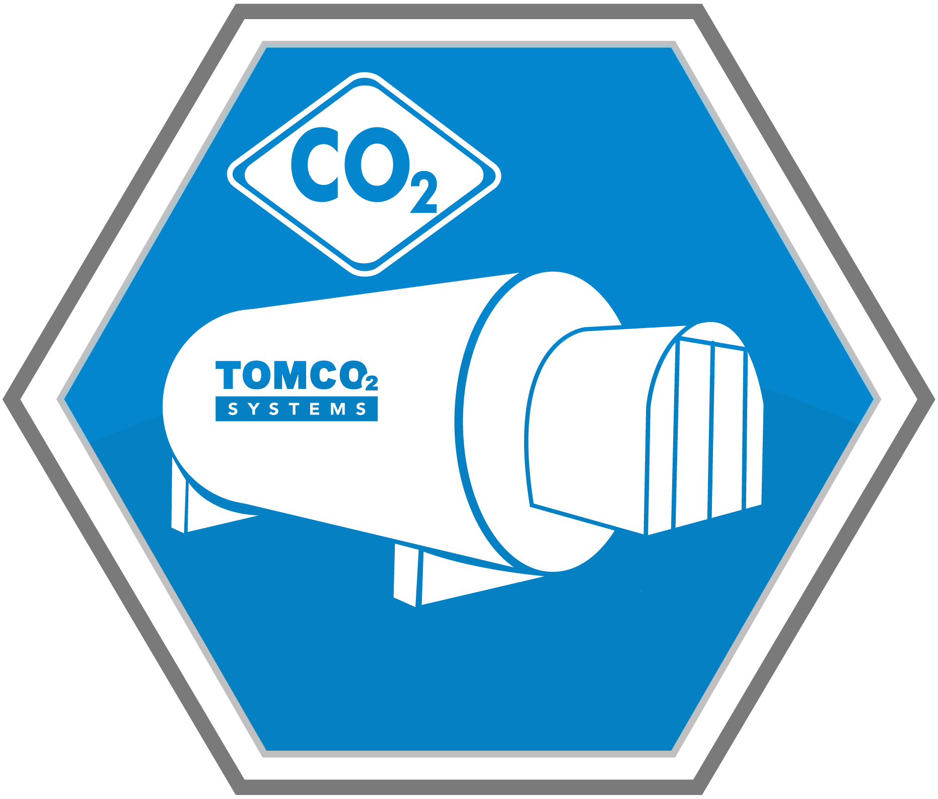 CO2 storage icon