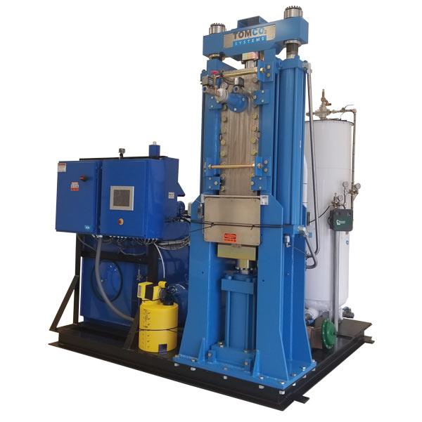 Dry Ice Block Press