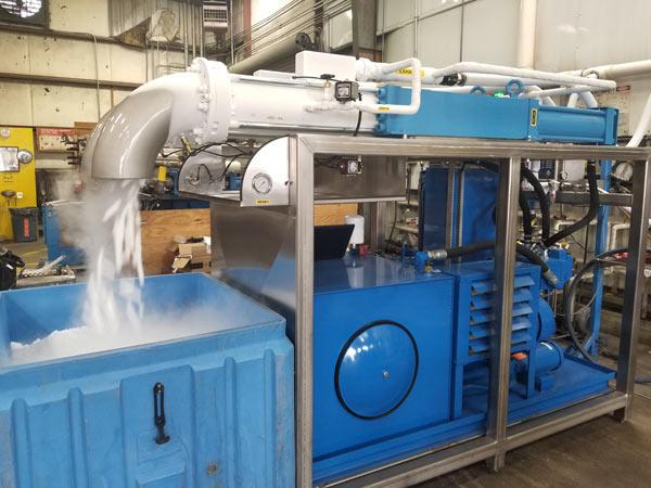 Dry Ice Pelletizers & Extruders